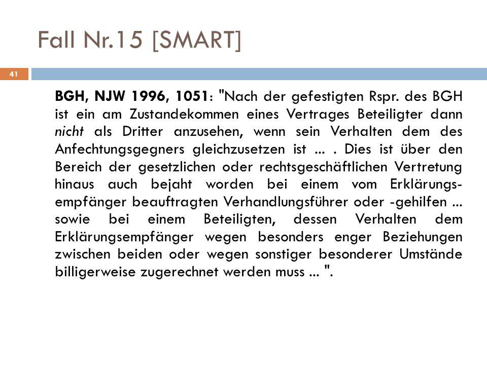 Fall Nr.15 [SMART]